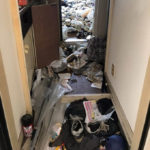 特使清掃と残置物撤去作業