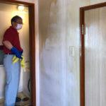 孤独死による室内原状回復作業/札幌営業所